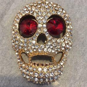 Betsy Johnson skull 💀♥️♥️♥️